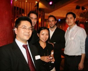 Networking event in Shanghai