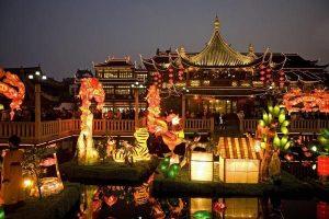 yuyuan garden lantern festival
