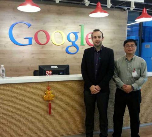 Internship in google Asia