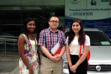 Arrival and orientation shanghai