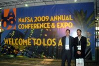 Next Step Connections At NAFSA 2009 Annual Conference In Los Angeles