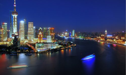 Shanghai Huangpu River The Bund Sightseeing Travel
