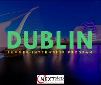 DUBLIN INTERNSHIP PROGRAM 8.24.18
