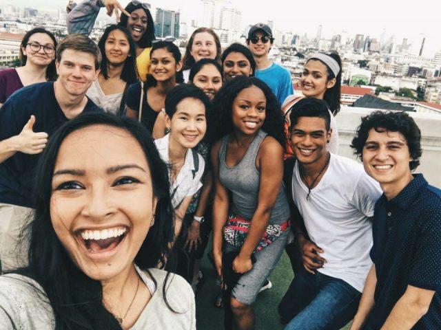 University Of Texas At Austin Students Completes Bangkok Internship Program